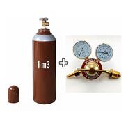 Cilindro Para Solda Mig 7lts- 1,0m3 + Regulador Arg
