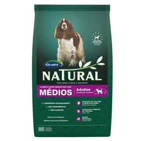 Ração Guabi Natural Para Cães Adultos De Raças Médias -