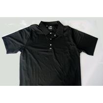 Camisa Adidas Golfe Cool Max Puremotion Preta Tam M