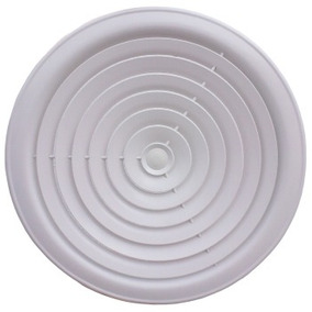 Difusor Circular Gimnasios, Mxarc-005, 14 Ø, Aluminio, 376c