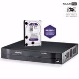 Dvr Gravador Digital Intelbras Mhdx 1008 G3 + Hd 1tb
