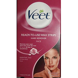 Veet Ready-to-use-wax-strips Hair Remover Face