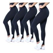 Kit 4 Legging Plus Size Cintura Alta #fitness #academia #top