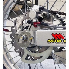 Kit Freio A Disco Traseiro Crf 230 C/ Cubo Raios Master Cia