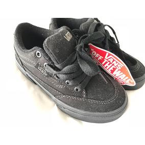 Zapatillas Vans Niño Negras 11us/26-27 Arg/nuevas/originales