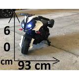 Moto A Bateria 6 Volt Luces Led 12 Cuotas Sin Recargo !!!
