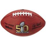 Balón De Fútbol Americano Wilson Nfl De Cuero Tamaño Oficial