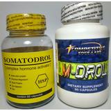 M-drol Original 90 Caps + Somatodrol 60 Caps Mdrolsomatodrol
