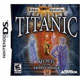 Jogo Mídia Física Titanic Mistérios Escondidos Nintendo Ds