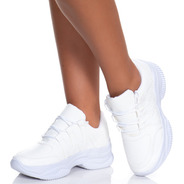 Tênis Feminino Chunky Dad Sneaker Buffalo Flatform Casual