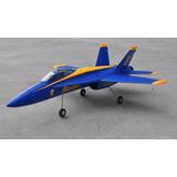 Avión Rc Jet F-18 Blue Angels Control Remoto Nuevo