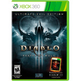 Diablo Iii Reapers Of Souls Ultimate Evil Edition Xbox 360