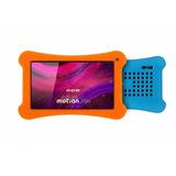 Capa Silicone Para Tablet Cce Motion Tr71 Tr72 + Películ