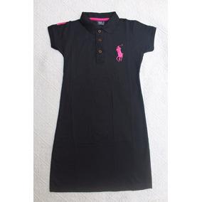 Kit De 6 Vestido Feminino Gola Polo Super Oferta