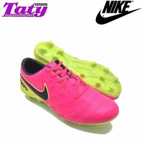 Chuteira Nike De Campo Com Trava Tiempo Fc Masculino Adulto