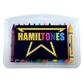 Hamiltones Lápiz Set - 12 Hamilton Musical Temáticas Colores