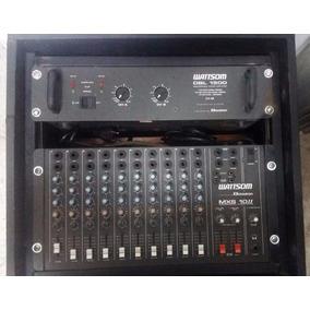 Mesa De Som Mxs10 I I E Pa Dbl1500 Wattsom