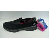 Zapatos Baletas Skechers Go Walk Mujer Original