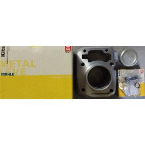 Kit Cilindro Motor Pra Moto Fan Titan 125 09 Á 13 Metal Leve