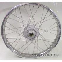 Roda Dianteira Nxr 150 Bros Esd Á Disco Alinhada
