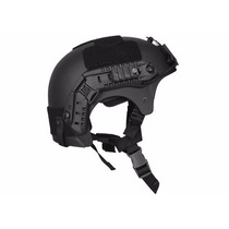 Capacete Tático Paintball Airsoft Ibx Preto