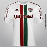 Camisa Fluminense Branca Adidas Tamanho - Camisas de Futebol Bordô ... 2c94e20b82ce3