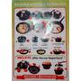 Kit Juego Bateria De Cocina Completisimo Antiadherente Olla