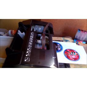 Impresora Epson T50 Modificada, Imprime 4 Cd Simultáneament