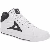 Tenis Pirma Casuales T/botines 422 Blanco Gris Pv