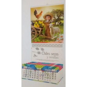 Calendario 2018 De Pared Con Varilla