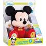 Peluche Juega Y Aprende Con Baby Mickey Disney Clementoni