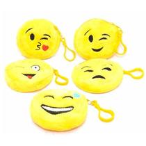 12 Monedero Llavero Unisex Emoji Emoticon Whatsapp Nuevo