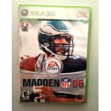 Madden 06 Nfl Xbox 360