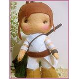 Muñeca Figuras En Fieltro - Muñecos Star Wars 7
