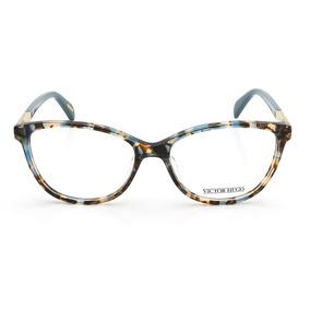 444fb1057f164 Óculos De Grau Victor Hugo Vh1758 0gek 53 Marrom Mesclado az
