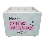 Porta Lápis Criativo Minhas Canetas Preferidas - Papelote