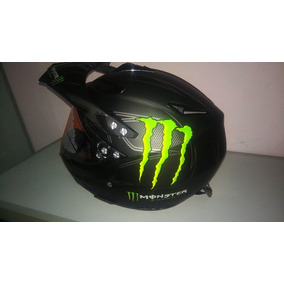 Capacete Cross Monster Com Viseira