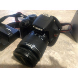 Canon T5 Kit Con Lente Ef-s 18-55mm + 75-300 (opcional)