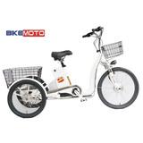 Triciclo Eletrico Bikemoto 350w 36v Modelo 2016 Electra