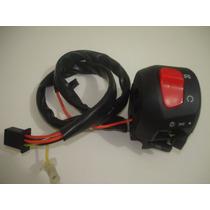 Punho Partida Suzuki Yes 125 Lado Direito Interruptor 08/10