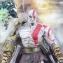 Figura De Ação Bonecos Brinquedos Kratos God Of War Pvc Novo