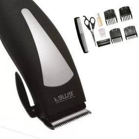 Maquina De Cortar Cabelo E Barba + Tesoura + Pente Promoção