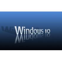 Cd De Instalação Windows 10 Pro/home - Chave Original
