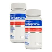 2x Testopro500 - 60 Capsulas - Inove Nutrition