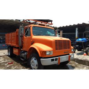 Camion De Volteo Señalizaciones International 4700 Año 93