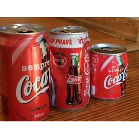 Latas De Coca Cola Coleccionables, Vacias