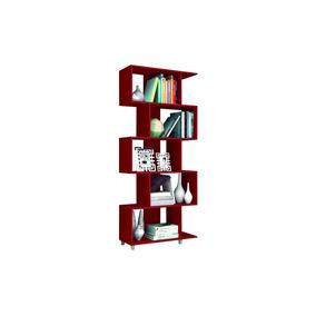 Librero July 5 Nichos Rojo