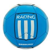 Pelota Fútbol Racing Club Drb - Nro.5 - Licencia Oficial