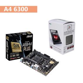 Kit Gamer Processador Amd A4 6300 + Asus A68hm-plus !
