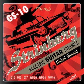 Encordoamento Guitarra Strinberg Gs10 010 - Loja Kadu Som
